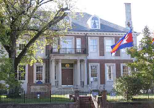 Cambodia Embassy in the United States