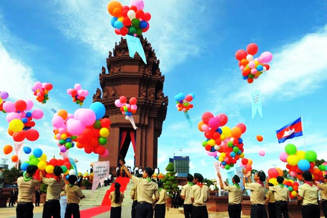 Independence day Cambodia