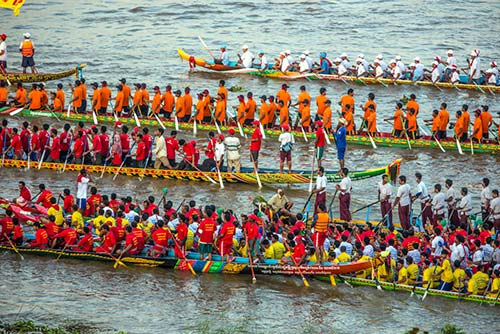 The vibrant atmosphere of sailing competitions in Phnom Penh