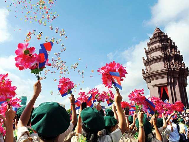 Cambodia festivals in November