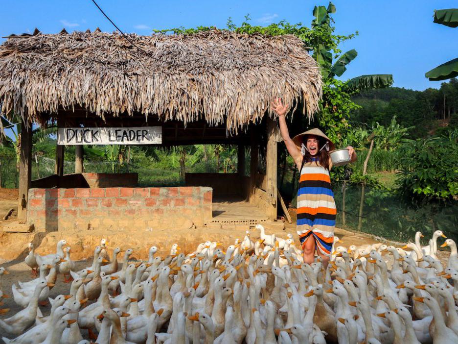 Forget fish massage, it's era of duck massage