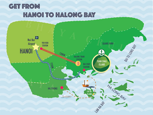 How To Travel Ha Long Bay From Ha Noi In Your Vietnam Tours