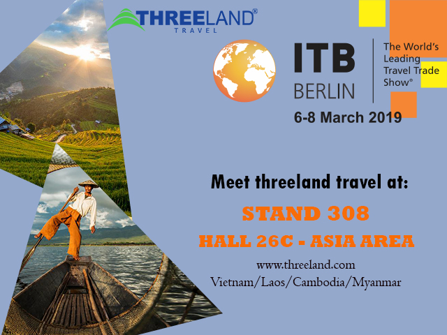 Threeland Travel: ITB Berlin 2019 | Leading Indochina