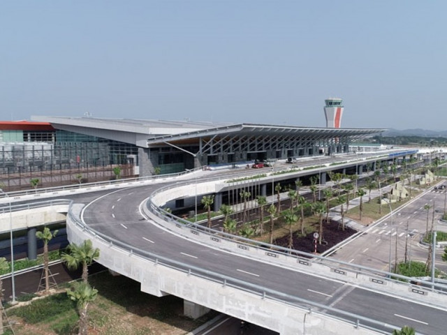 A new International Airport to Halong Bay in Vietnam