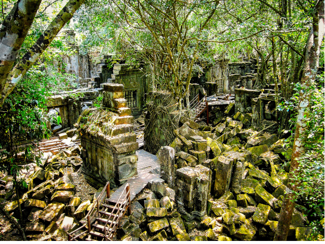 Full Day Tour In Angkor Heritage Site