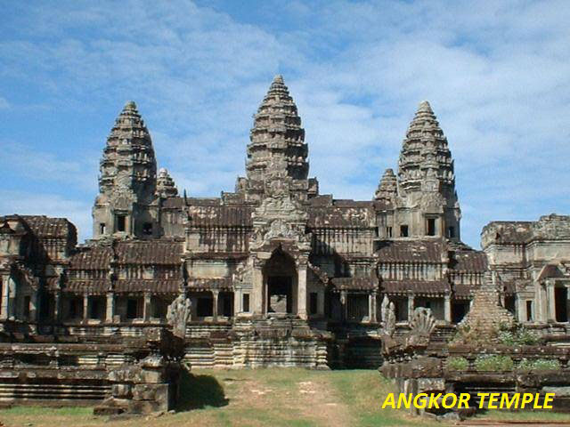THE BEAUTIFUL ANGKOR TEMPLES