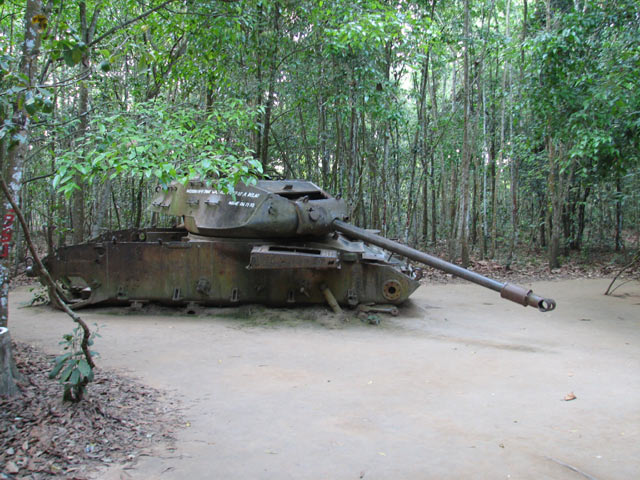 Half Day Tour To Cu Chi Tunnels