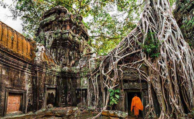 UNIQUE HONEYMOON IN CAMBODIA