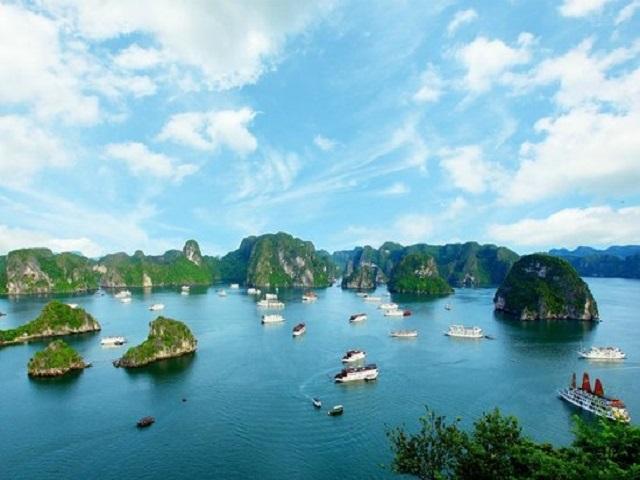 A Glance Of Halong Bay