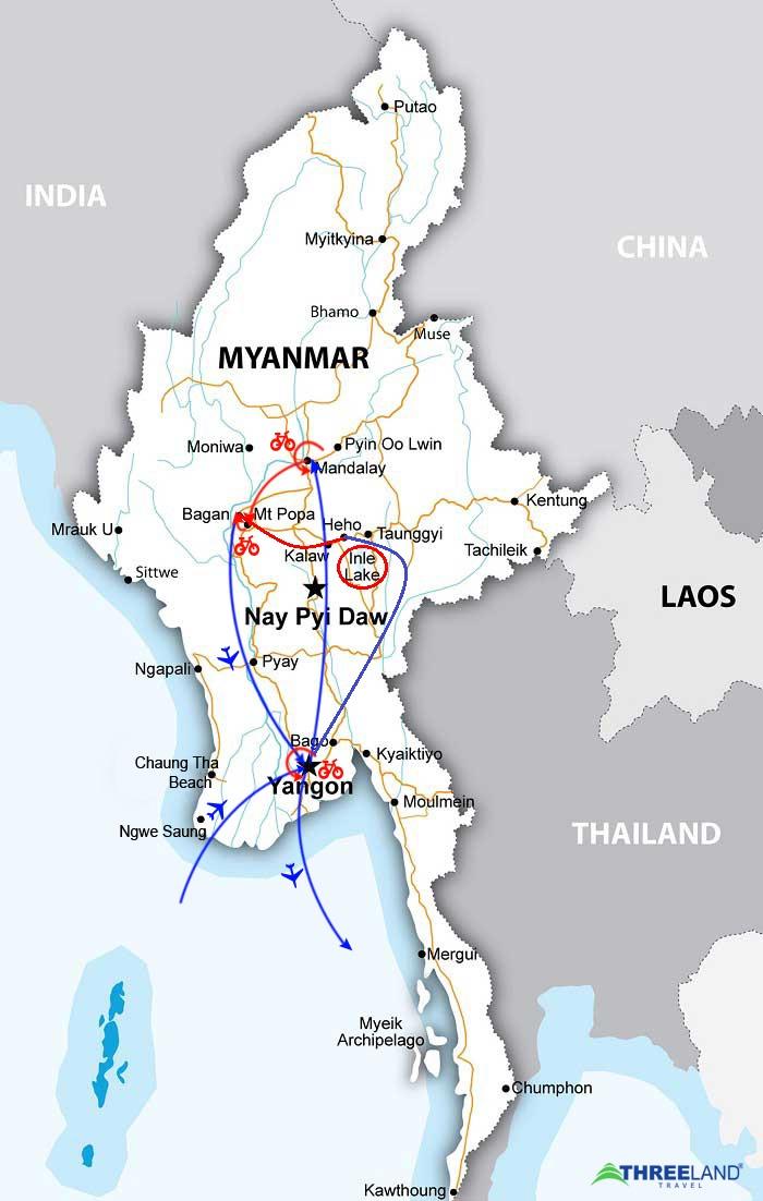 MYSTERIOUS MYANMAR