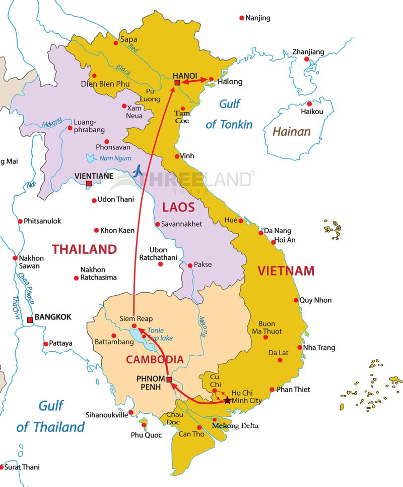 Cambodia Vietnam Exploration opt. ✈