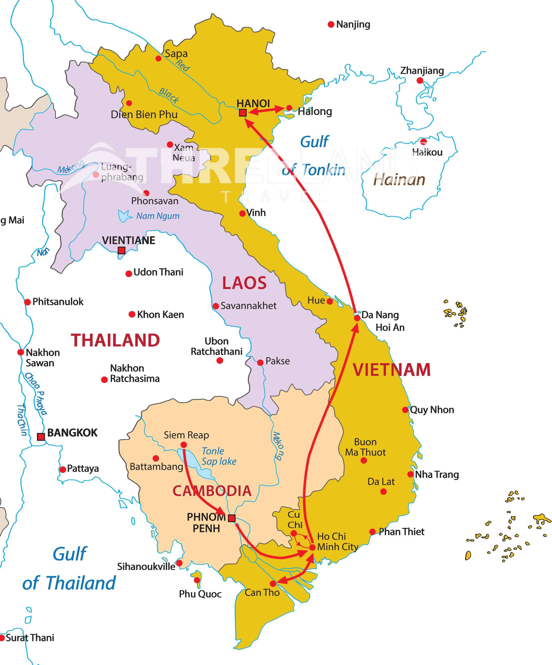 Cambodia - Vietnam combination ( daily departure)