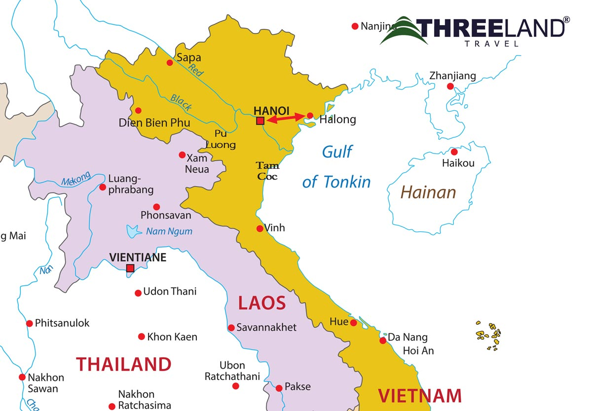 HANOI – HALONG BAY ON OVERNIGHT CRUISE (5 DAYS)