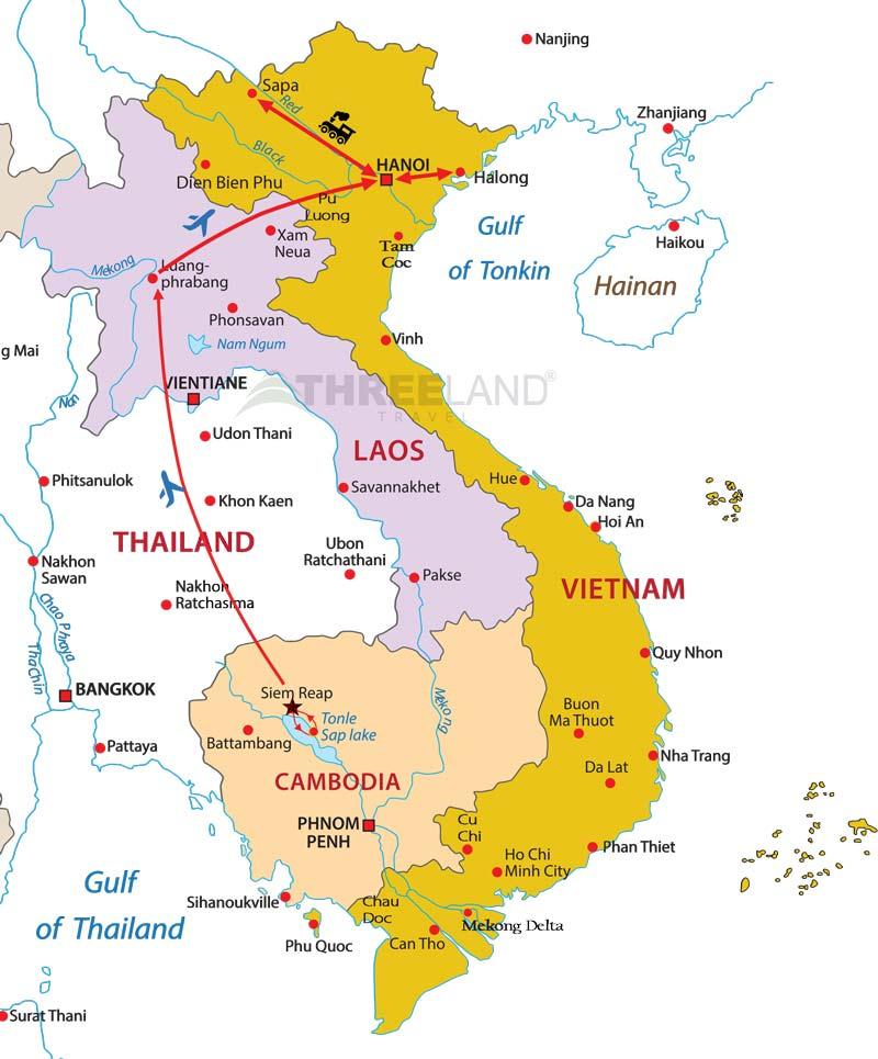 Indochina Tour 12 days