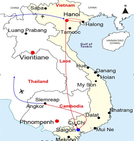 Indochina Impression