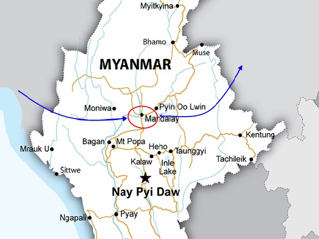 MANDALAY MINGUN DAY TRIP