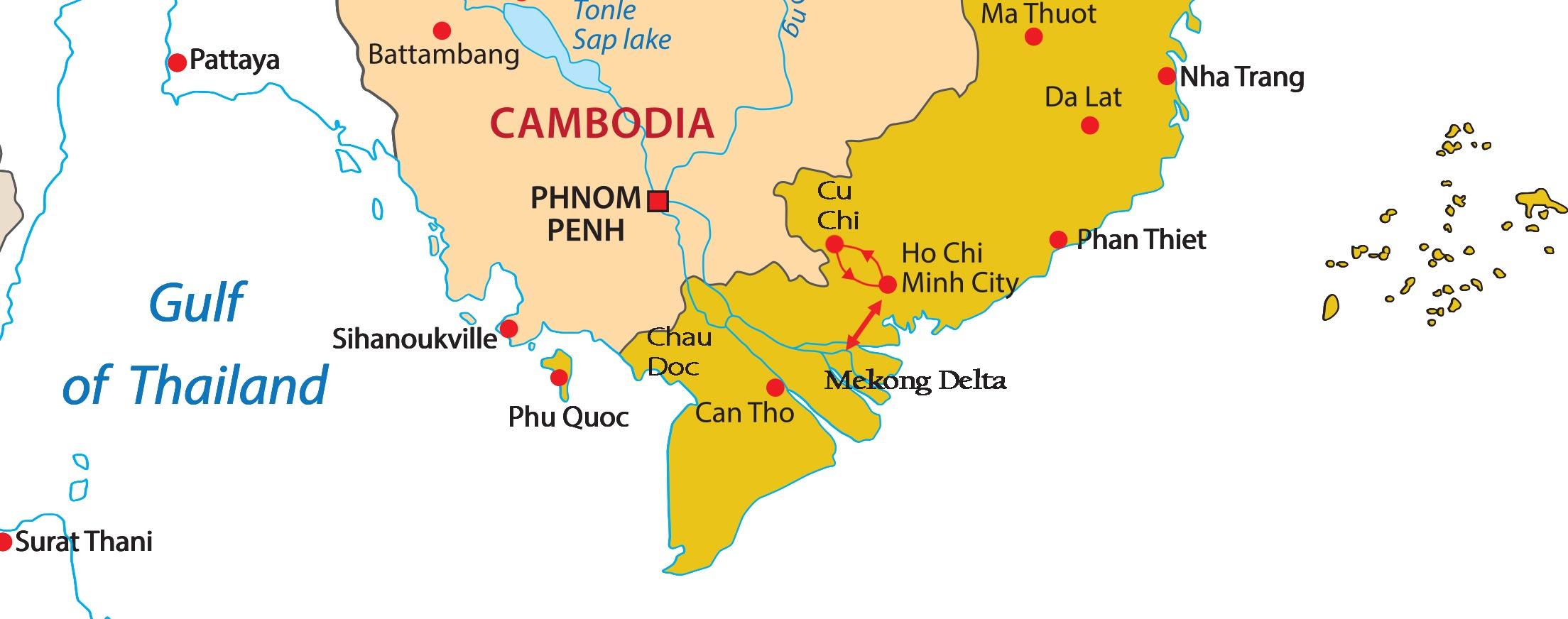 Vietnam - The Bustling South (International Group Tour)