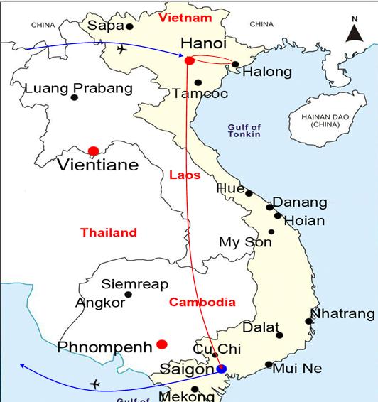 VIETNAM - HOLIDAY & SHOPPING