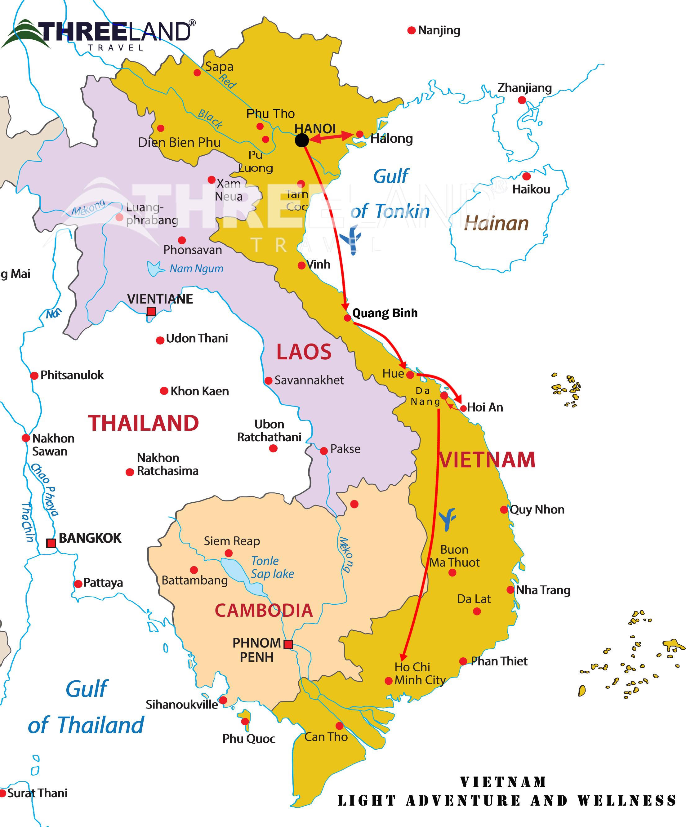 Vietnam Light Adventure and Wellness