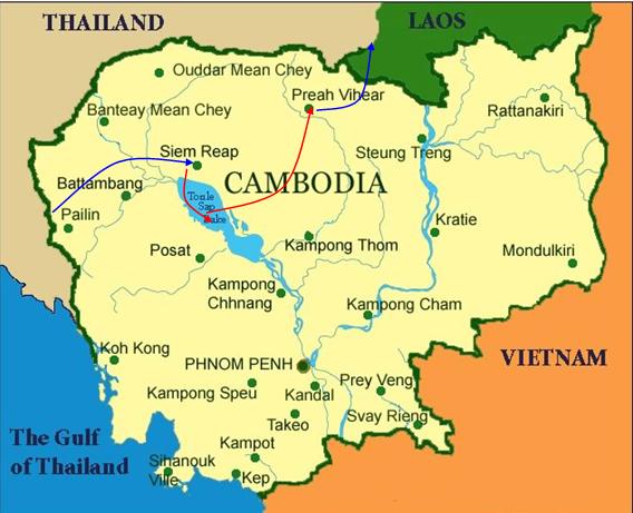 Angkor And Preah Vihear