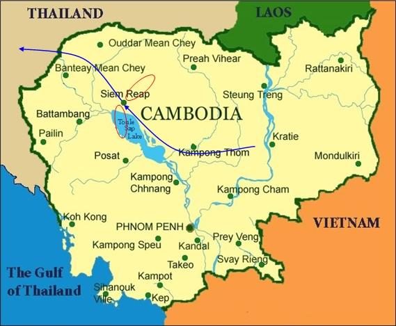 CAMBODIA BIRDING ANG TRAPAENG THMOR CRANE RESERVE