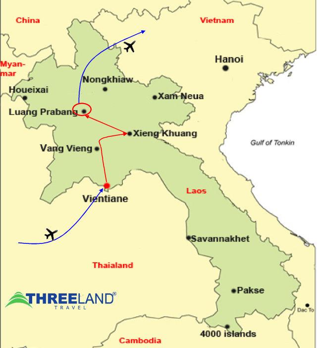 Laos Plain of Jars