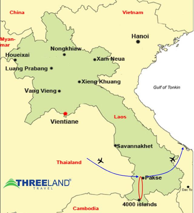 LAOS SOUTHERN STOPOVER