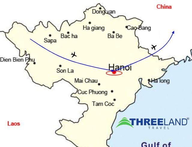 Ha Noi Vietnam Map.Shopping Around Hanoi