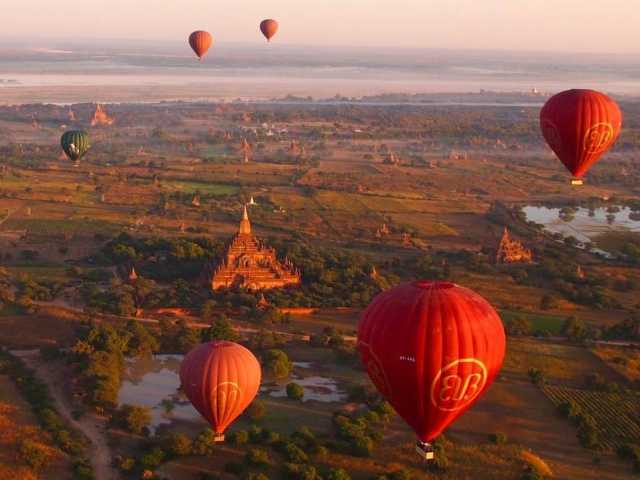 TRIP TO YANGON AND BAGAN