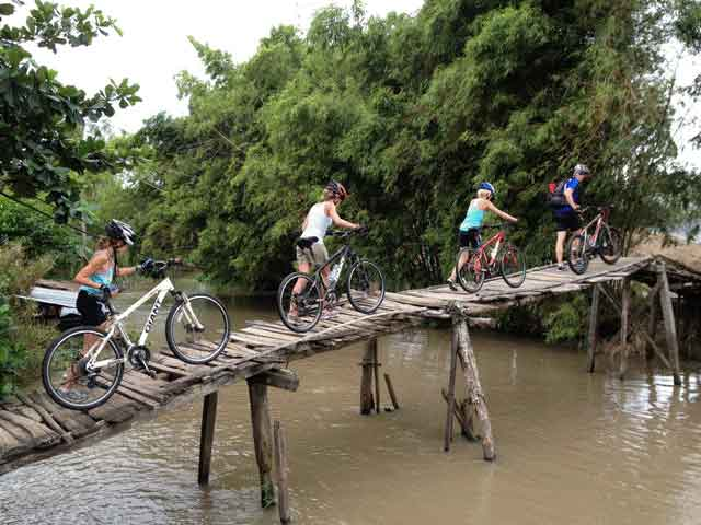 Mekong cycling